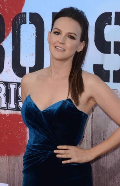 Carla Gallo, joue Tamara P., la prétendante aveugle de Burning Love
