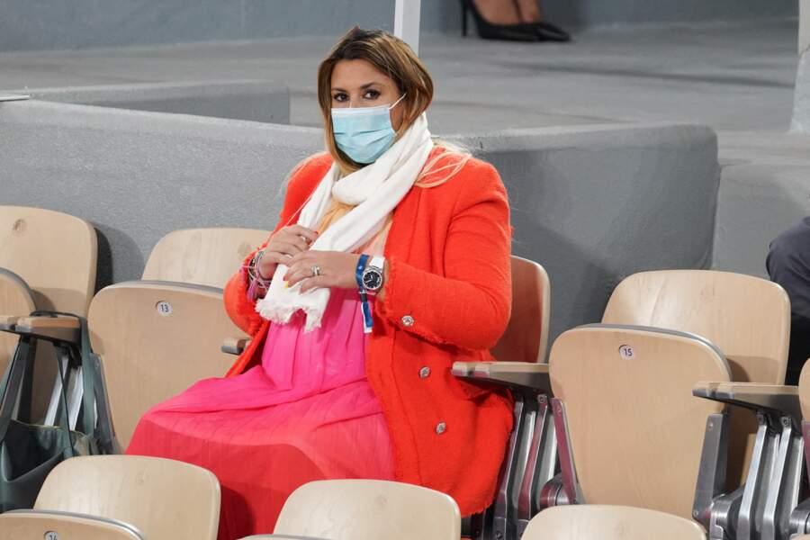Marion Bartoli, ici enceinte, a soulevé une fois un trophée du Grand-Chelem mais c'était à Wimbledon (2013) et non à Roland-Garros.