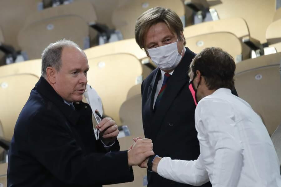 Les félicitations du Prince de Monaco