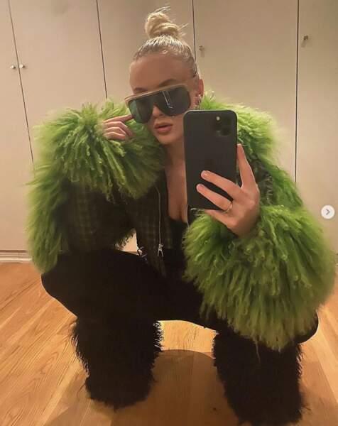 On vous laisse vous faire votre propre avis sur ce look de Zara Larsson.