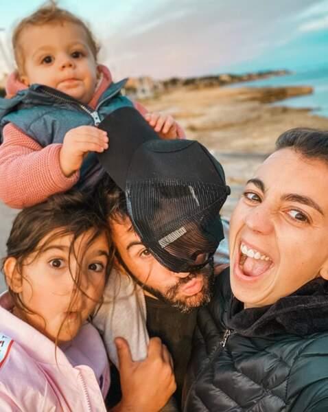 Et Laurent Ournac a publié ce joli selfie de famille.