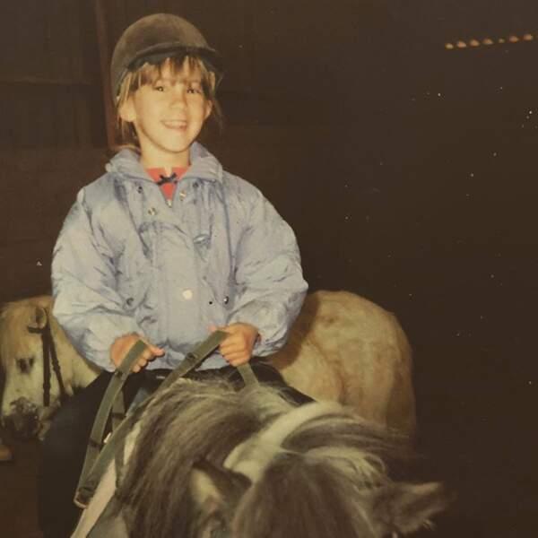 La jeune cavalière Léa François.