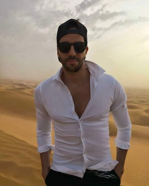 Visite sympathique dans le désert de Dubaï