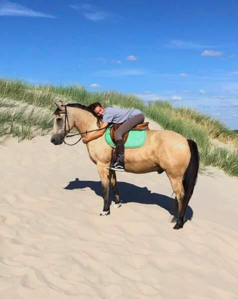 Et beaucoup de photos à cheval !