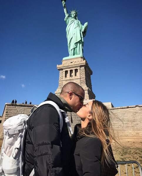 Le bisous des amoureux à New York