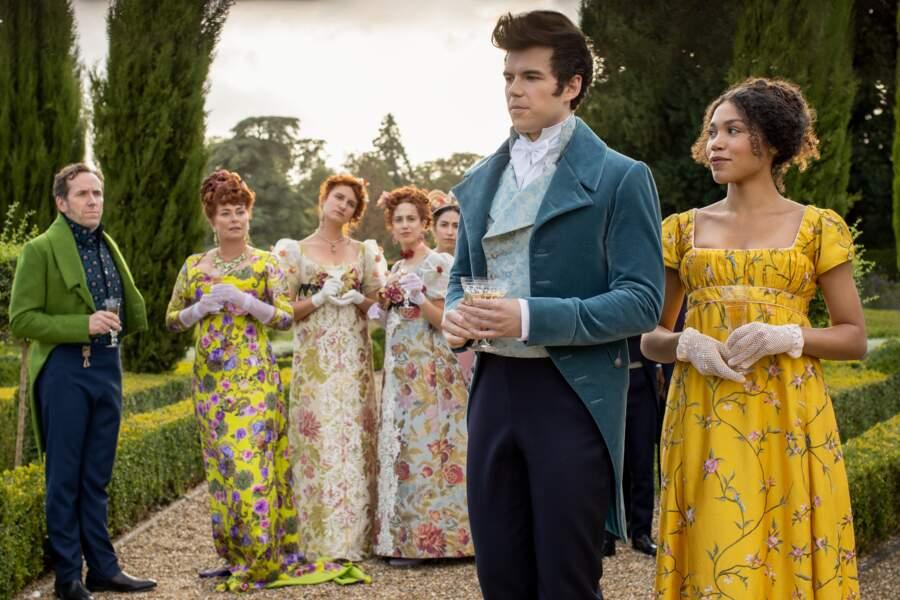 La série se déroule au XIXe siècle durant la Régence britannique