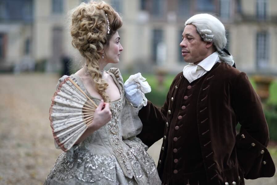 Et Julie Gayet et JoeyStarr, acteurs ennemis d'un film historique, on s'en souvient bien !