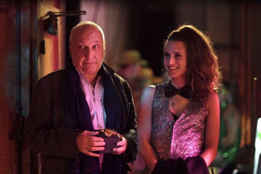 François Berléand ne s'est pas ennuyé aux côtés d'une Andrea (Camille Cottin) survoltée