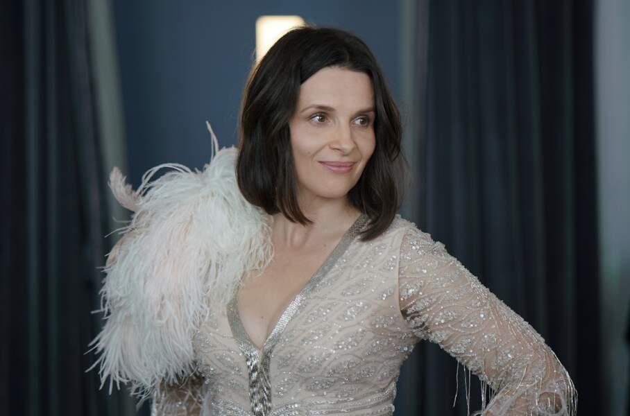 Tout comme Juliette Binoche, qui elle, s'amusait comme une folle en maîtresse de cérémonie du festival de Cannes