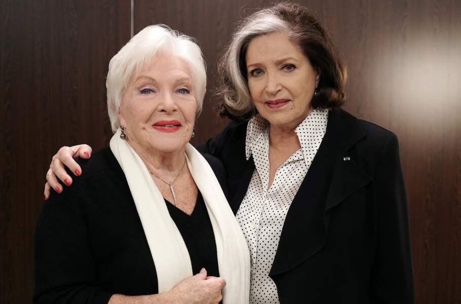 La série a ensuite accueilli deux grandes dames du cinéma : Line Renaud et Françoise Fabian