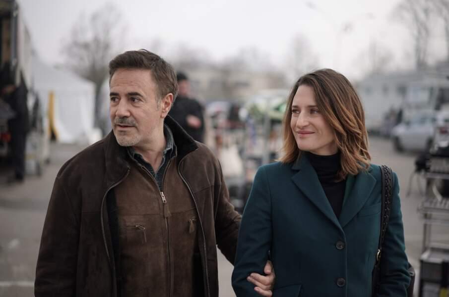 Une histoire d'amitié serait-elle née entre Andrea (Camille Cottin) et José Garcia ?