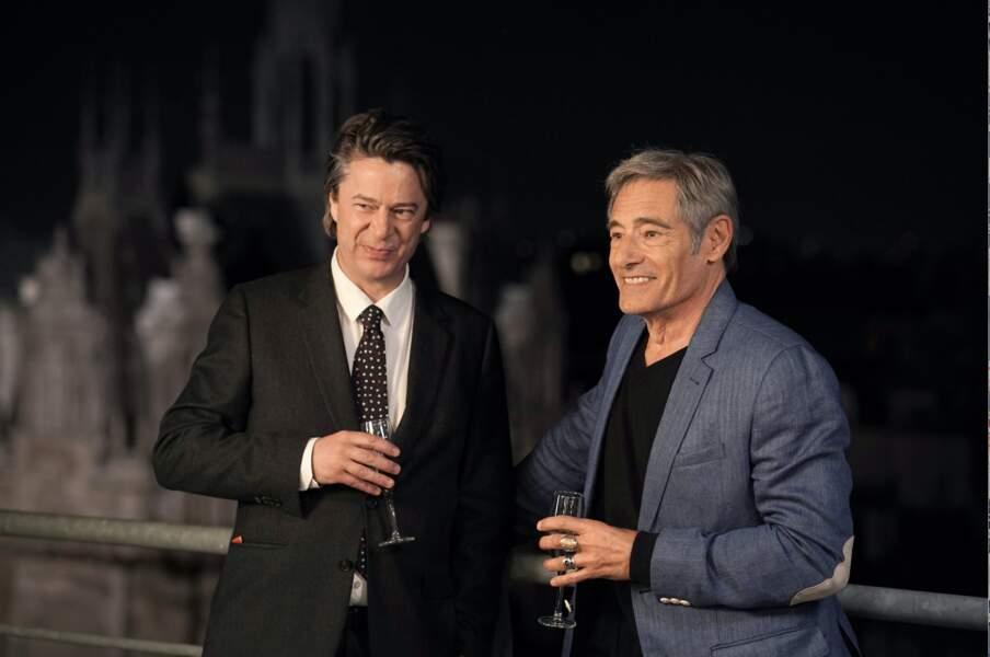 L' agent a aussi aidé Gérard Lanvin, qui lui, redoutait de se faire voler la vedette par un comédien plus jeune que lui