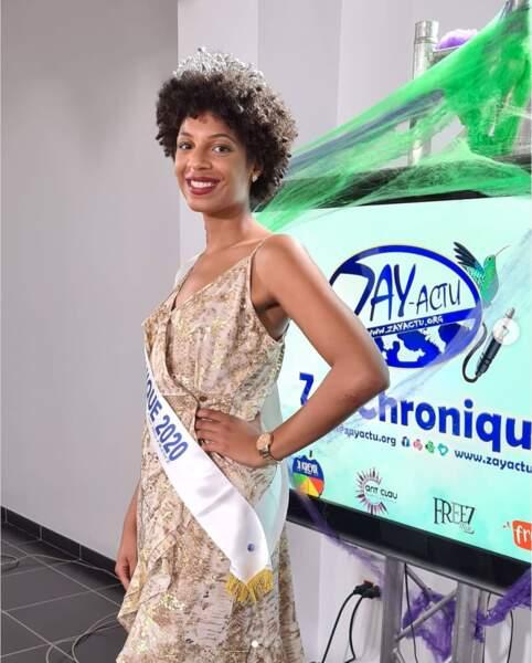 Séphorah Azur, 23 ans, est la jolie représentante de la Martinique
