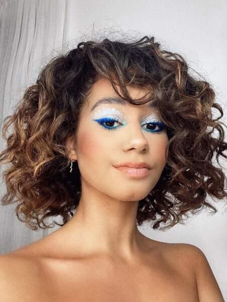 Et regardez donc ce magnifique maquillage dévoilé par Léna Situations !