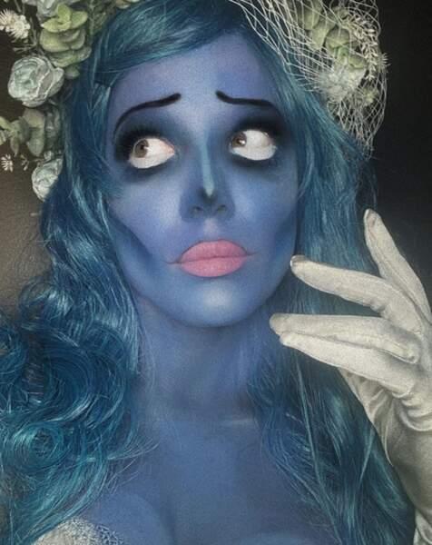 La chanteuse Halsey, elle, s'est inspirée des Noces Funèbres pour son make-up.
