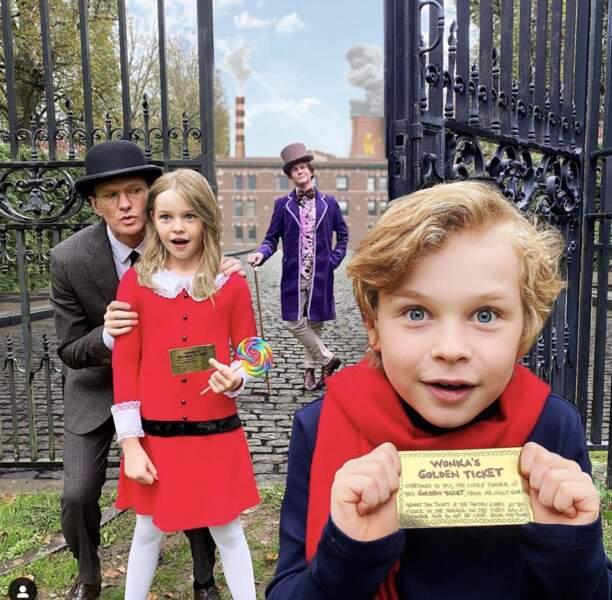 L'acteur Neil Patrick Harris et sa famille ont fait un remake de Charlie et la chocolaterie