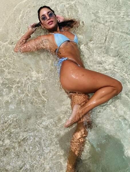 Souvenir en bikini pour Vanessa Hudgens.