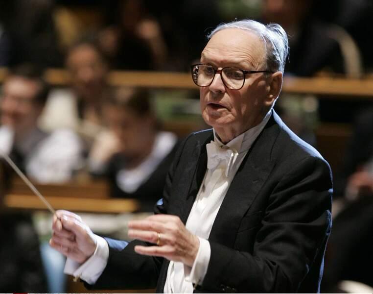 Ennio Morricone, compositeur, disparu le 06 juillet à 91 ans