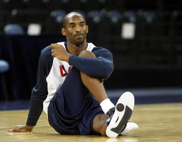 Kobe Bryant, joueur de basket-ball, disparu le 26 janvier à 41 ans