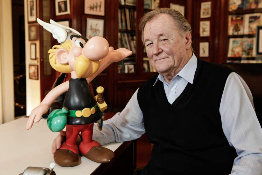 Uderzo, dessinateur, disparu le 24 mars à 92 ans