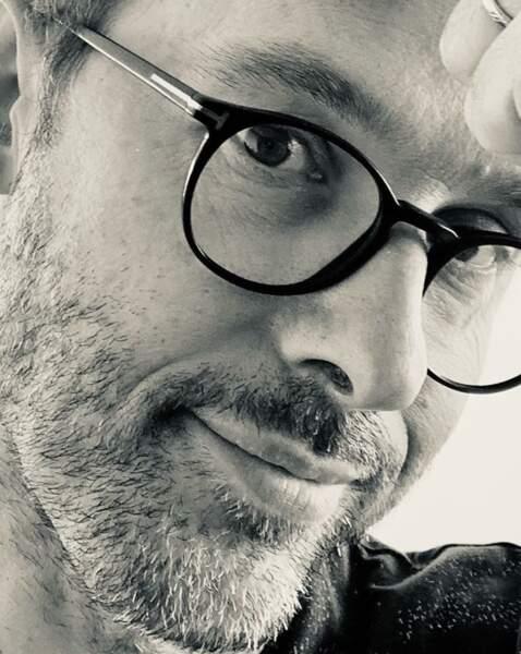 Damien Thévenot fait la grève du rasoir et ça lui va bien.
