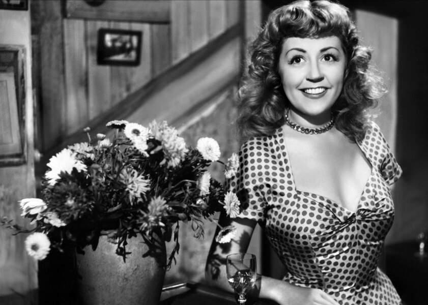 Suzy Delair, comédienne, disparue le 15 mars à 102 ans