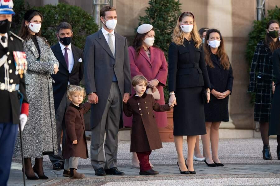 Les neveux du souverain monégasque étaient presque tous présents