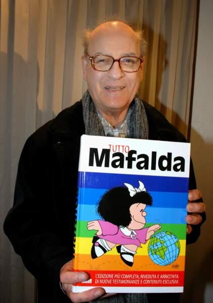 Quino, dessinateur, disparu le 30 septembre à 88 ans