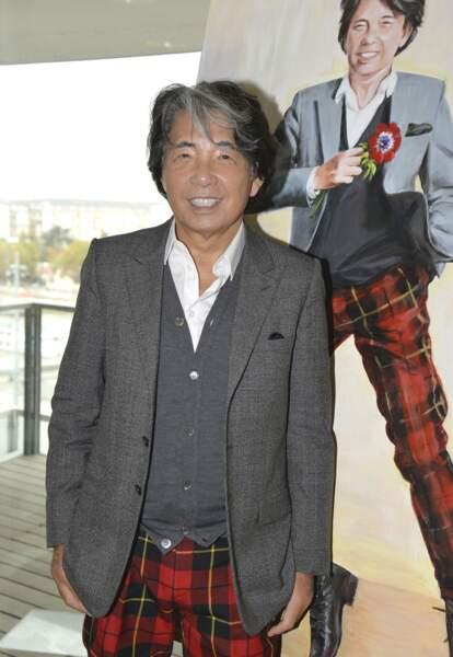 Kenzo Takada, couturier, disparu le 4 octobre à 81 ans