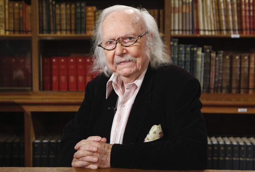 Alain Rey, linguiste, disparu le 28 octobre à 92 ans