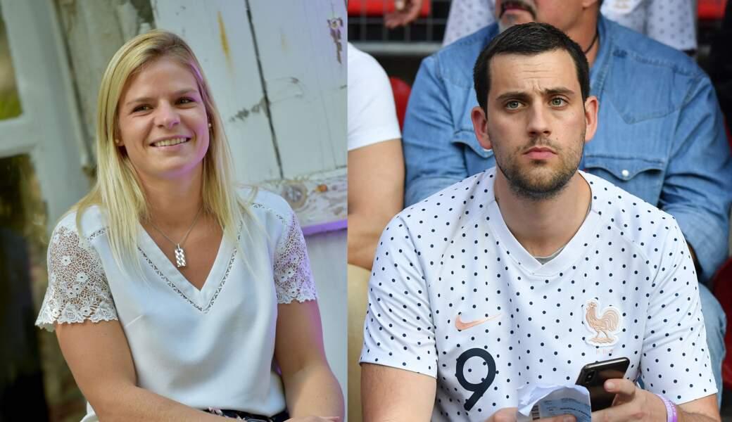 Le 11 août, Eugénie Le Sommer (attaquante de l'Olympique lyonnais) épouse son compagnon Florian Dariel dans le Finistère