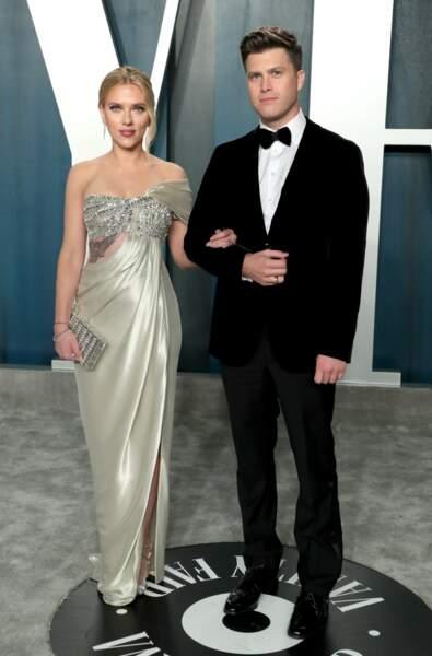 Durant le week-end du 24 octobre, Scarlett Johansson et Colin Jost se disent oui ! Il s'agit du troisième mariage de l'actrice.