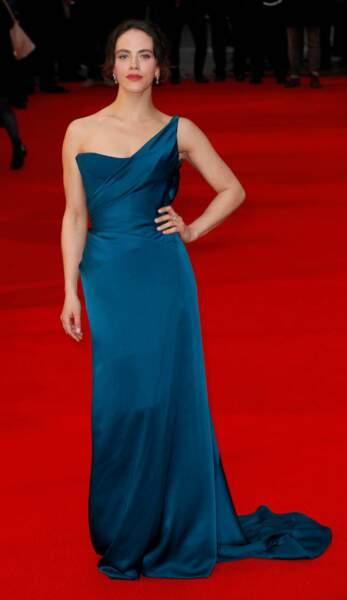 Si elle apparaît seule sur les tapis rouges, l'actrice Jessica Brown Findlay (alias Lady Sybil dans Downton Abbey) a épousé son compagnon Ziggy Heath le 12 septembre