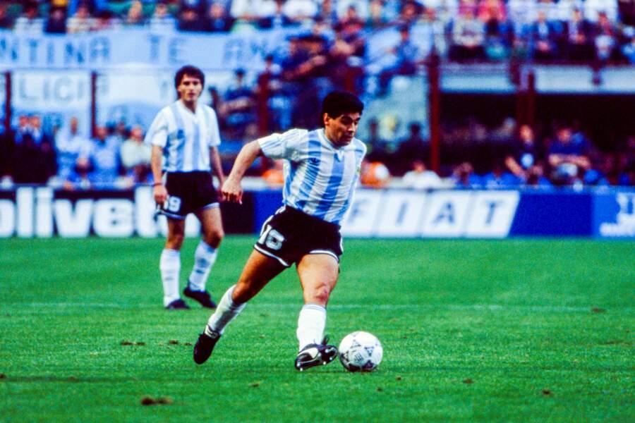 En 1990 pendant la Coupe du monde.