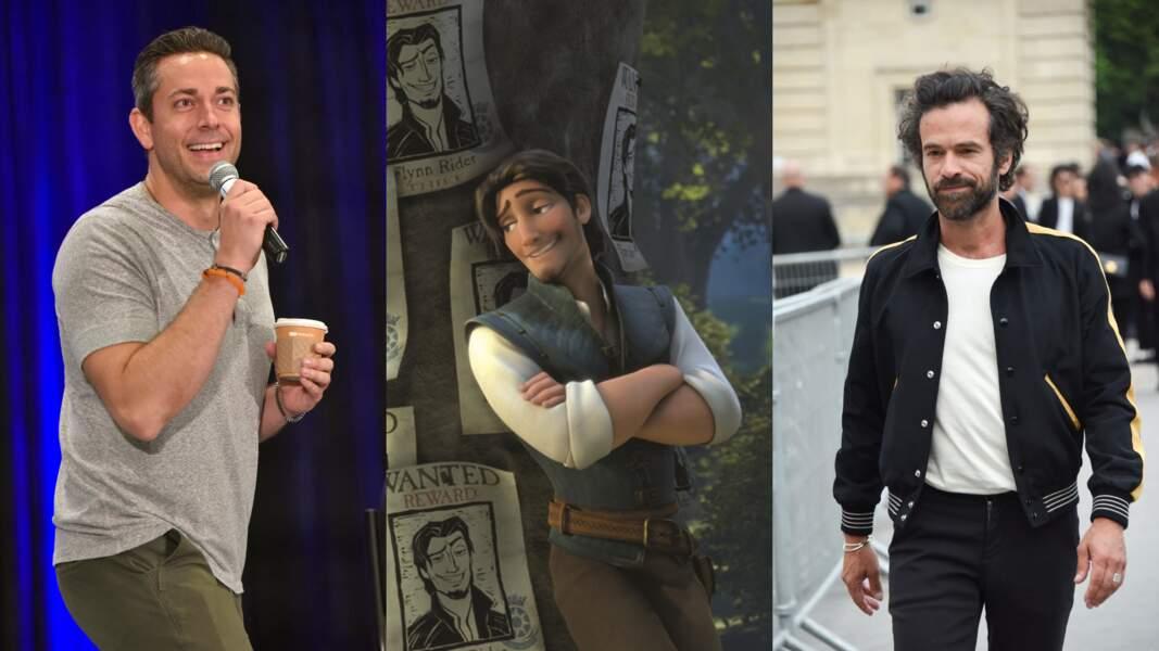 """C'est d'un pas décidé que Zachary Levi et Romain Duris ont incarné Flynn Rider dans """"Raiponce"""""""