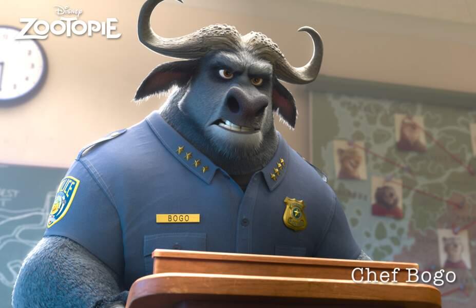 """Le Chef Bogo, dans """"Zootopie"""", c'est eux. Et ouais !"""