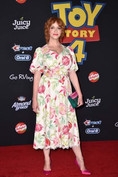 "C'est la plantureuse Christina Hendricks qui incarne Gabby Gabby en VO dans ""Toy Story 4""..."