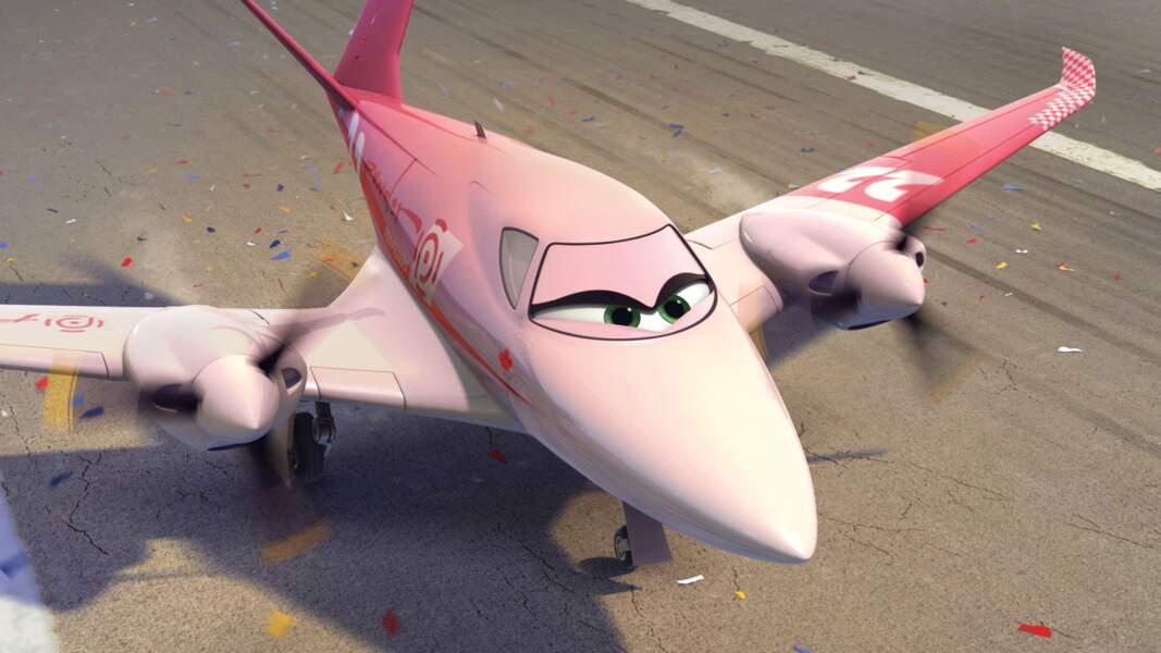 """Rochelle, un avion qui joue les belles dans """"Planes"""""""