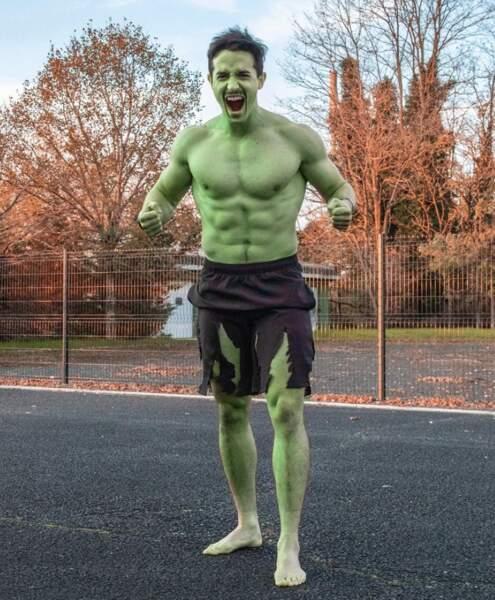 Veillez à ne pas trop énerver Tibo InShape ou il deviendra tout vert.