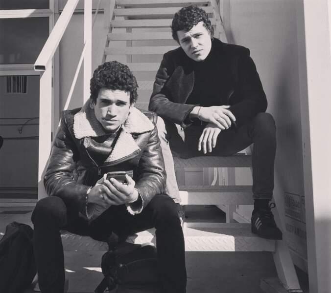 Dans la série de Netflix, Aron Piper a aussi donné la réplique à  deux stars de La Casa de Papel : Jaime Lorente...