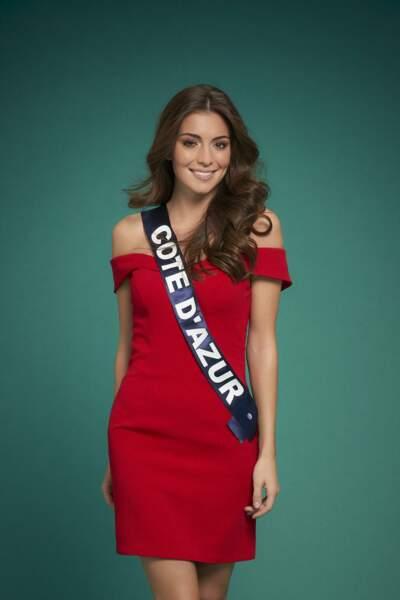 Lara Gautier est Miss Côte d'Azur 2020