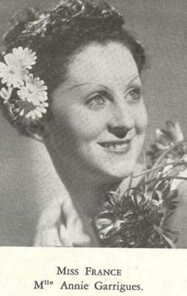 Miss France 1938, Annie Garrigues