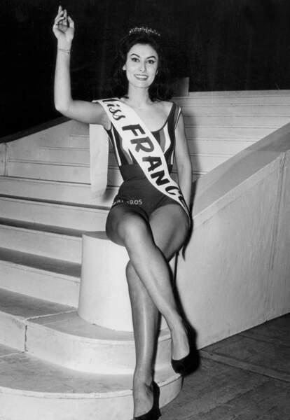 Miss France 1963, Muguette Fabris