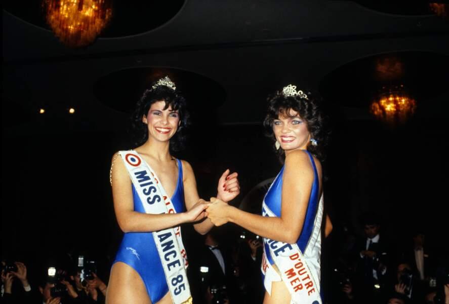Miss France 1985, Suzanne Iskandar
