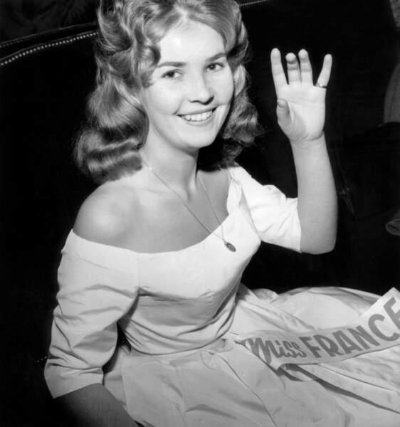 Miss France 1960, Brigitte Barazer De Lanurien