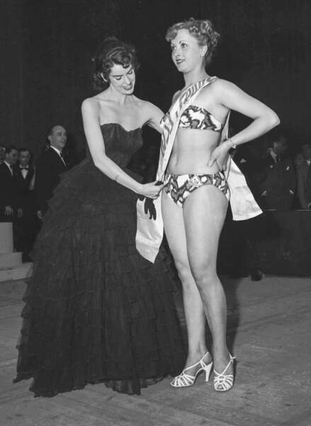 Miss France 1952, Josyane Pouy