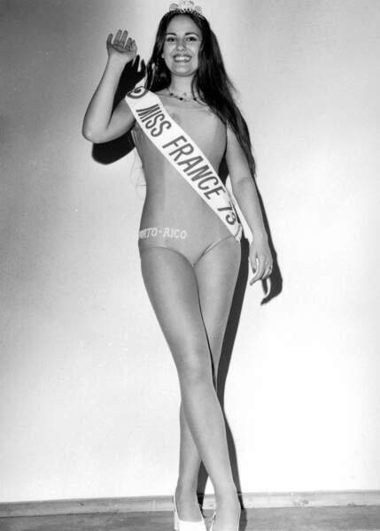 Miss France 1973, Isabelle Krumacker