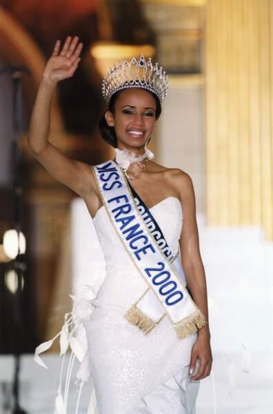 Sonia Rolland élue Miss France 2000