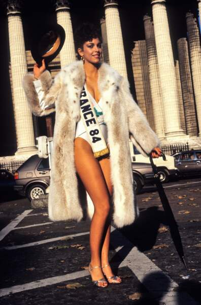 Miss France 1984, Martine Robine