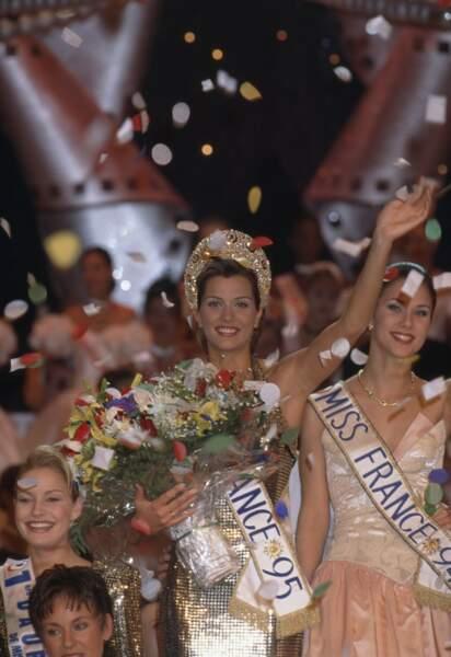 Miss France 1995, Mélody Vilbert